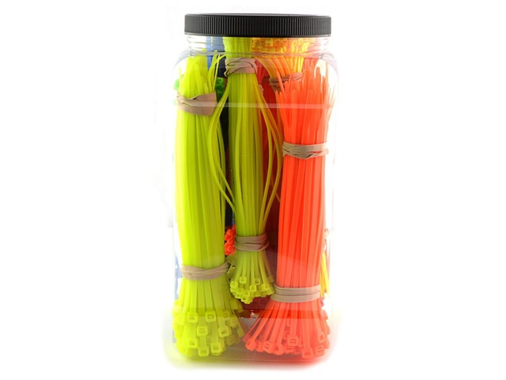 1400 piece cable tie kit
