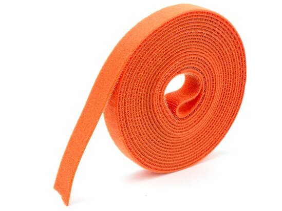 orange continuous 3\4 inch hook and loop wrap