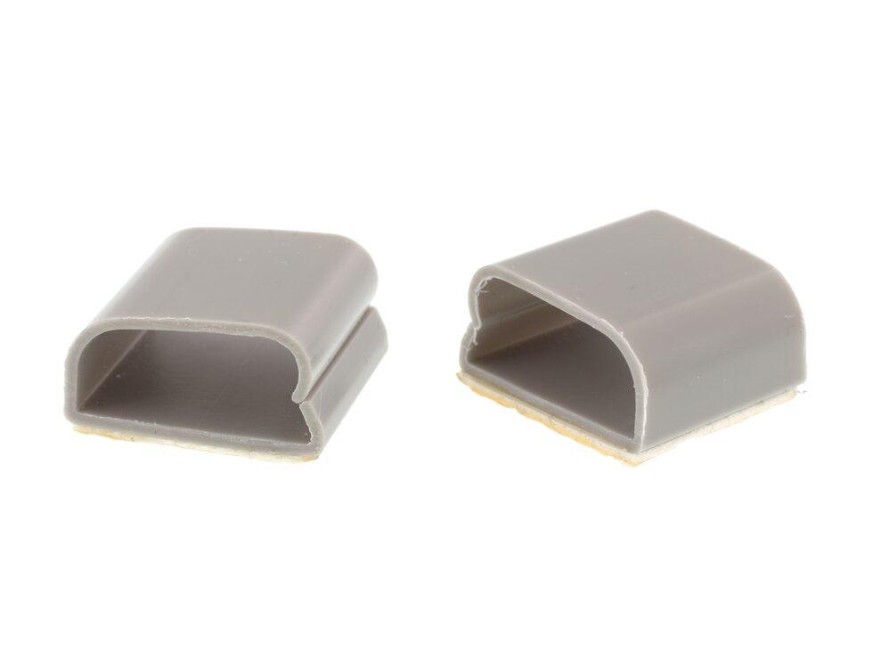 gray cable clip