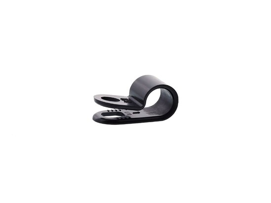 Picture of 1/4 Inch UV Black Cable Clamp - 100 Pack