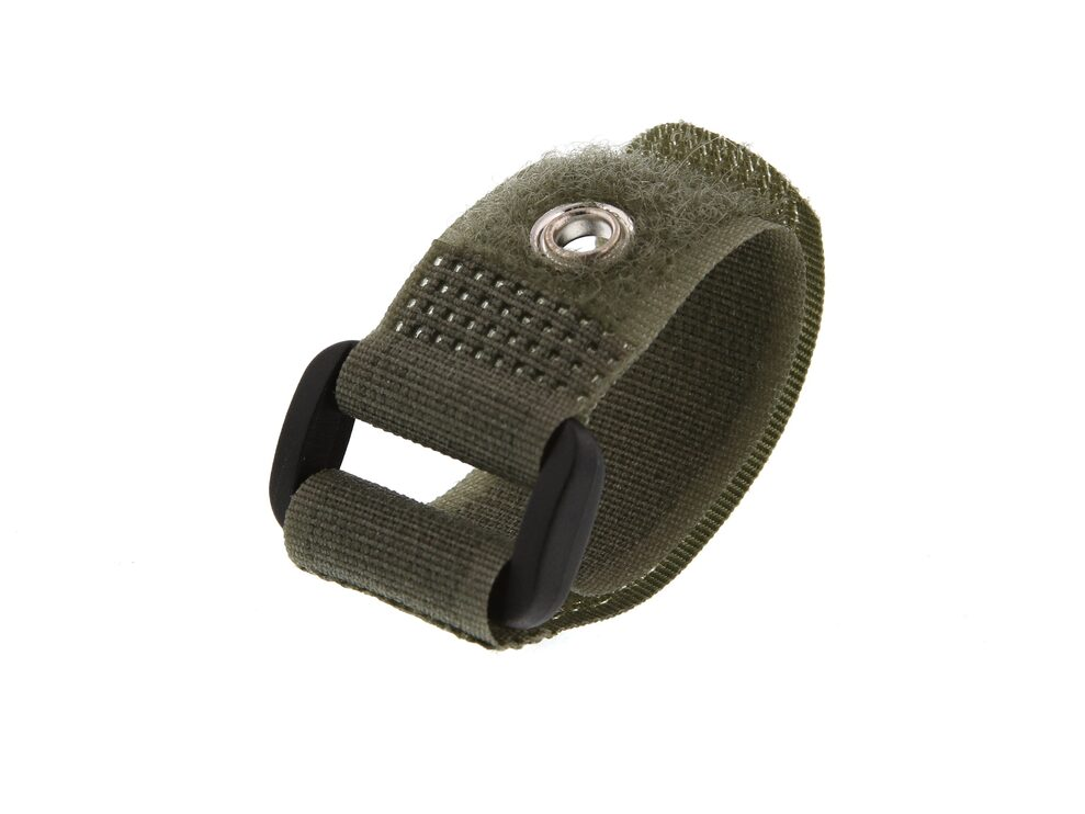 Picture of 6 Inch Camouflage Green Cinch Straps with Eyelet - 5 Pack