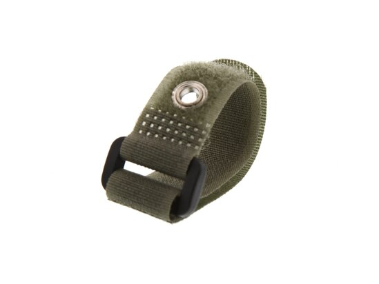 Picture of 6 x 5/8 Inch Camouflage Green Cinch Straps with Eyelet - 5 Pack