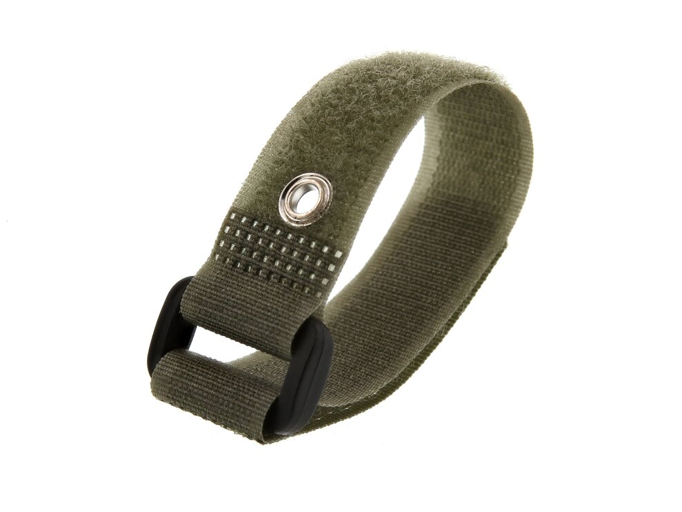 Picture of 8 Inch Camouflage Green Cinch Straps with Eyelet - 5 Pack