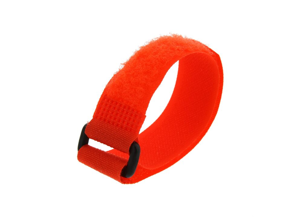 Picture of 8 Inch Orange Cinch Strap - 5 Pack