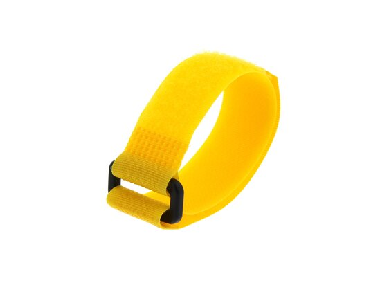 Picture of 8 Inch Yellow Cinch Strap - 5 Pack