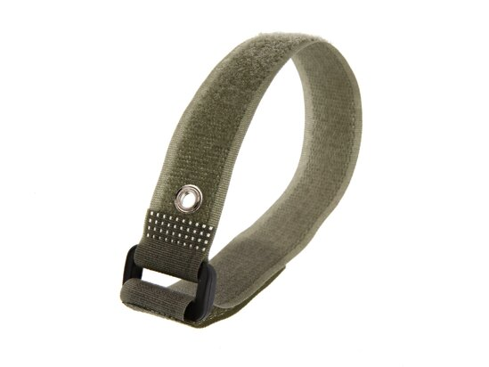 Picture of 12 Inch Camouflage Green Cinch Straps with Eyelet - 5 Pack