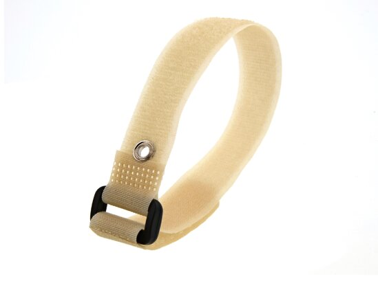 Picture of 12 Inch Camouflage Tan Cinch Straps with Eyelet - 5 Pack