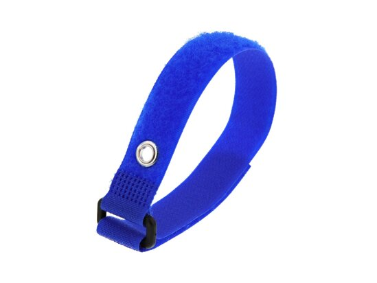 Picture of 12 Inch Blue Cinch Strap with Eyelet - 5 Pack