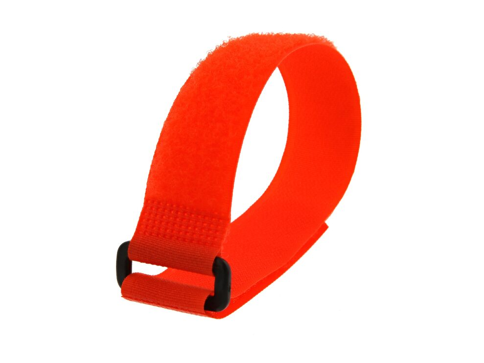 Picture of 12 x 1 Inch Orange Cinch Strap - 5 Pack