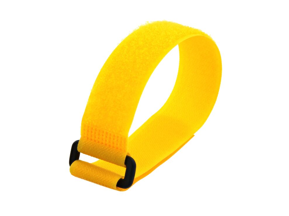 Picture of 12 x 1 Inch Yellow Cinch Strap - 5 Pack