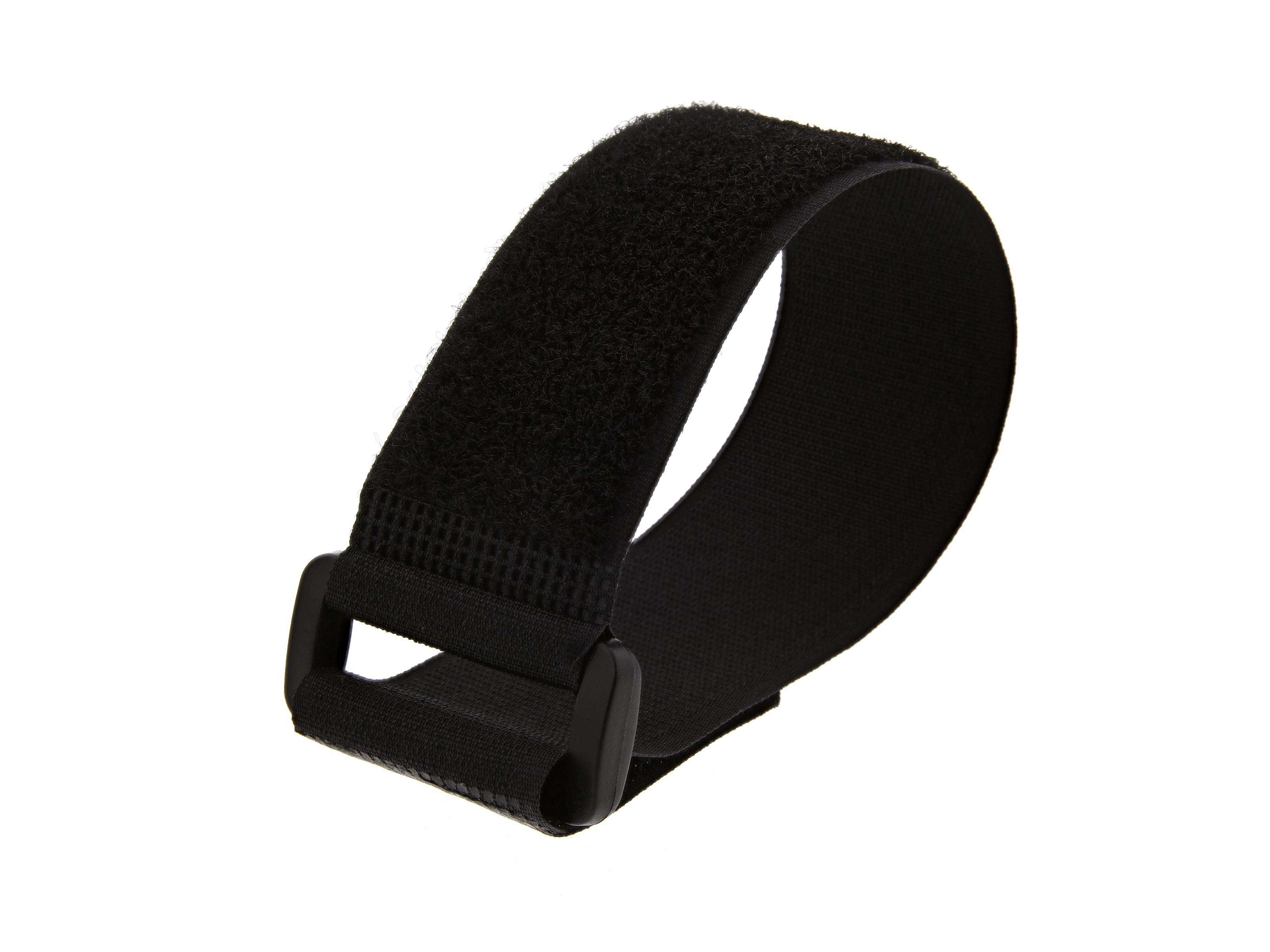 Black 12 x 1.5 inch with Eyelet Heavy Duty Cinch Straps
