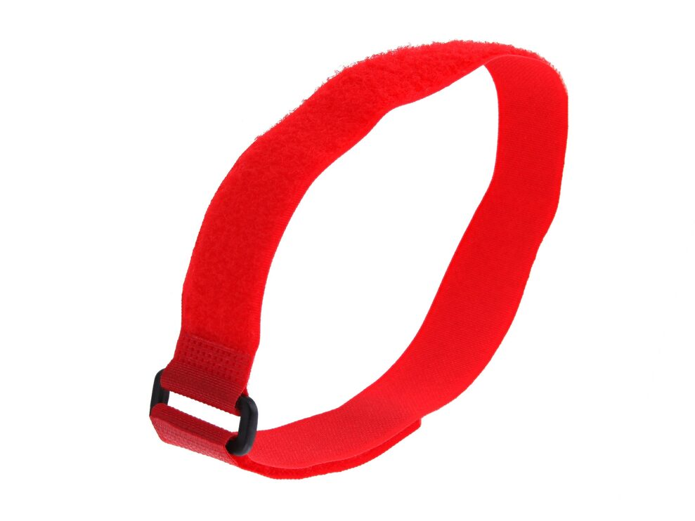 Picture of 18 x 1 Inch Red Cinch Strap - 5 Pack