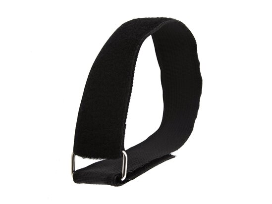 Picture of 18 x 1 1/2 Inch Heavy Duty Black Cinch Strap - 5 Pack