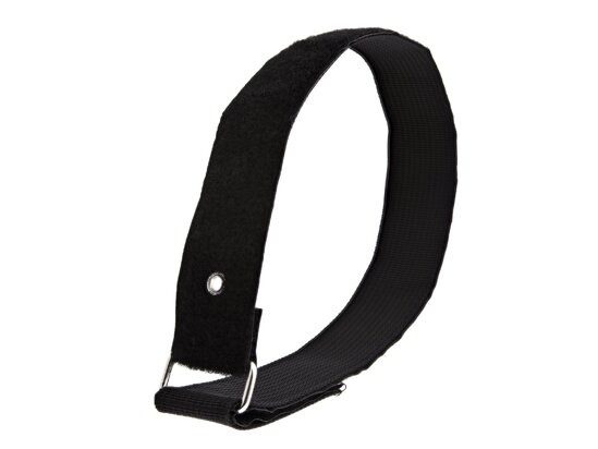 Picture of 24 x 1 1/2 Inch Heavy Duty Black Cinch Strap with Eyelet - 5 Pack