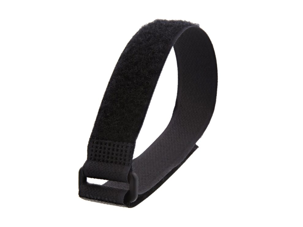 Picture of 12 Inch Fire Rated Black Cinch Strap - 5 Pack