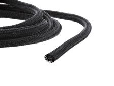 Picture of 1/4 Inch Self-Closing Braided Wrap 10FT - Black