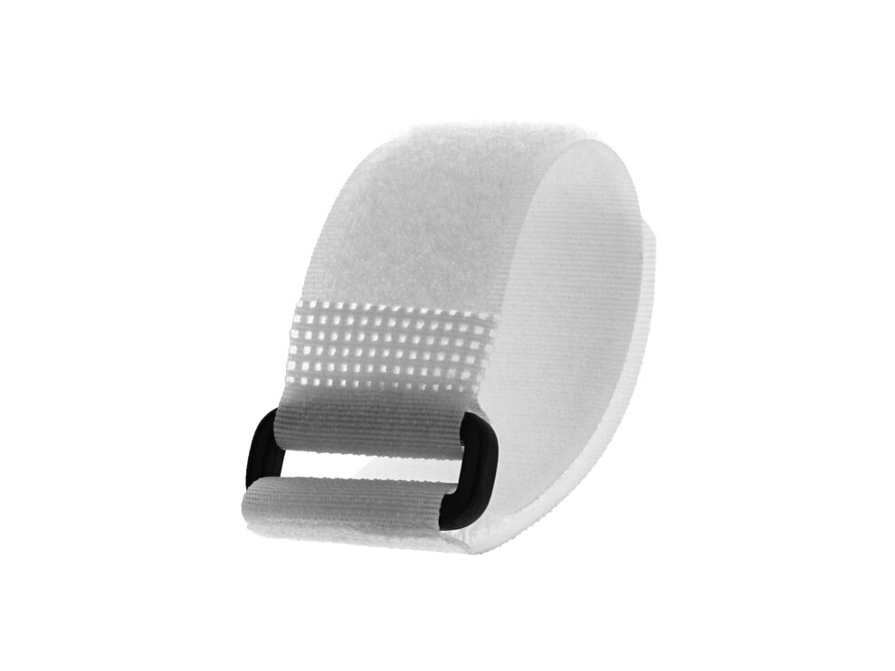 Picture of 8 x 1 Inch White Cinch Straps - 5 Pack
