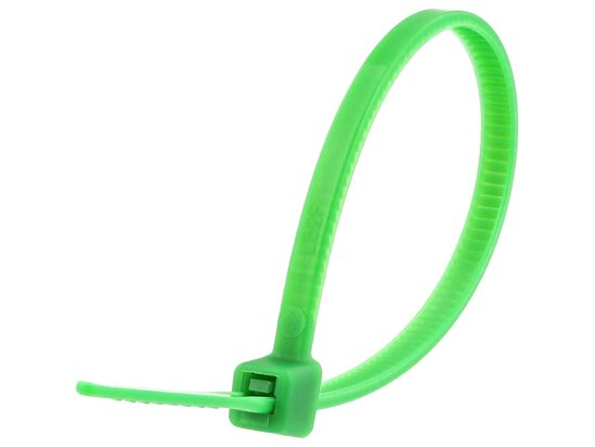 4 Inch Green Miniature Cable Tie