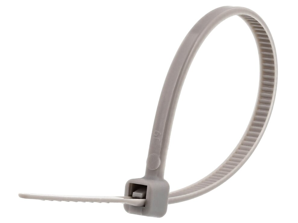 4 Inch Gray Miniature Cable Tie