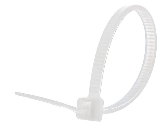 4 Inch Natural Miniature Cable Tie