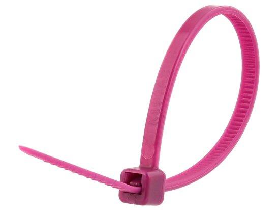 4 Inch Purple Miniature Cable Tie