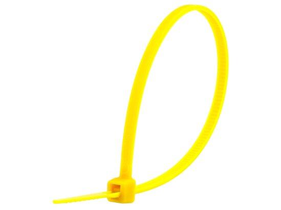 6 Inch Yellow Miniature Cable Tie