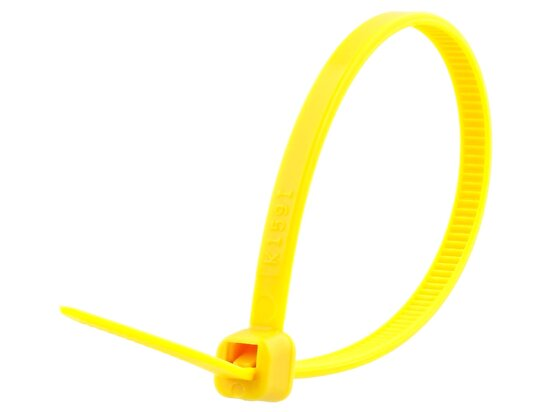 6 Inch Yellow Intermediate Cable Tie