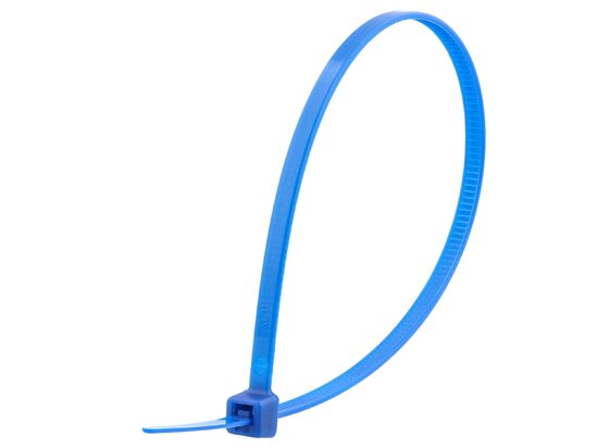 8 Inch Blue Intermediate Cable Tie