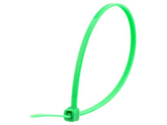 8 Inch Green Intermediate Cable Tie