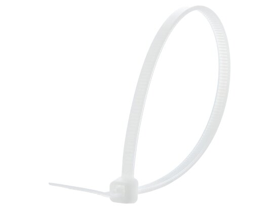 8 Inch Natural Intermediate Cable Tie