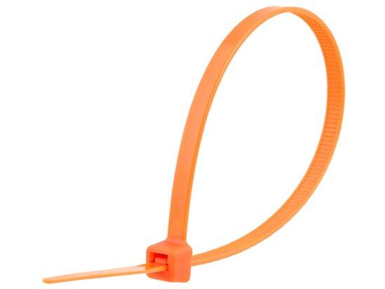 8 Inch Orange Standard Cable Tie