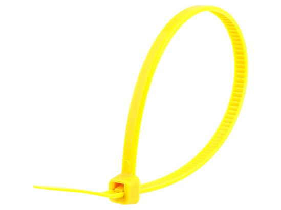 8 Inch Yellow Standard Cable Tie