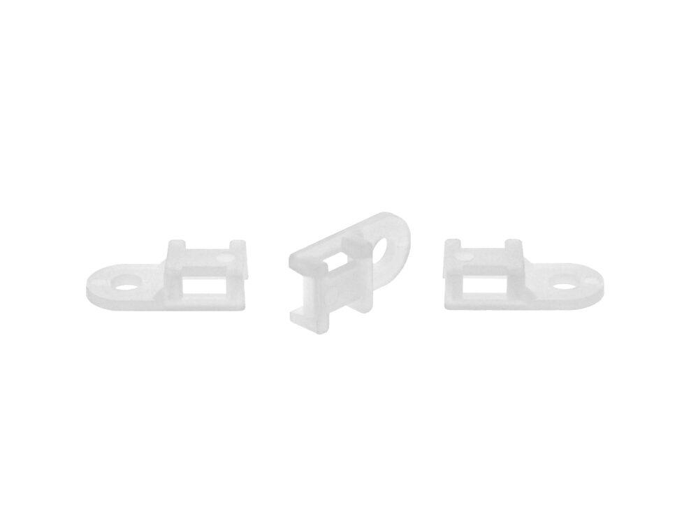 natural 3.7mm saddle tie mount