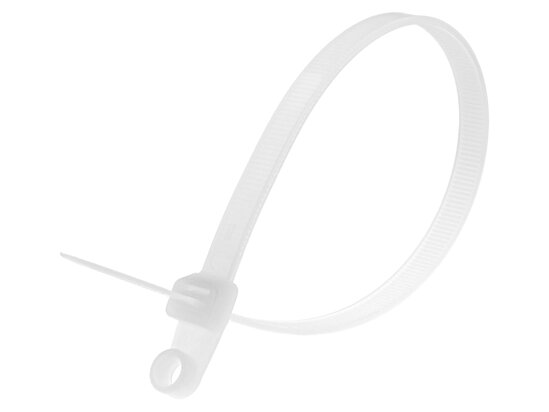 12 1/2 Inch Natural Mount Head Cable Tie