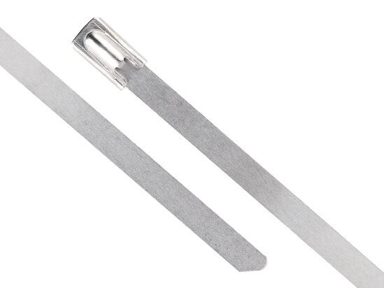 27 Inch Standard Stainless Steel Cable Tie Head and Tail