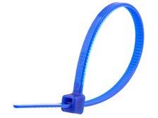 4 Inch Dark Blue Miniature Cable Tie