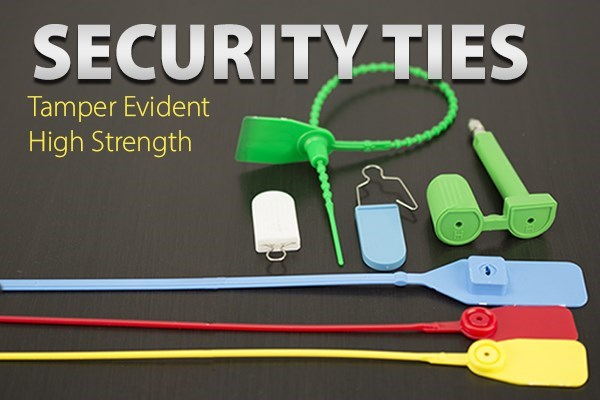 Security Ties - Tamper Evident High Strength