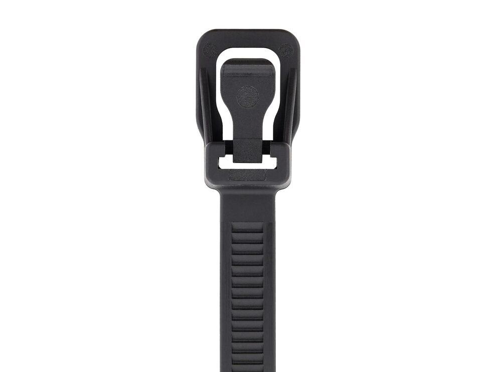 Picture of RETYZ WorkTie 14 Inch Black Releasable Tie - 100 Pack