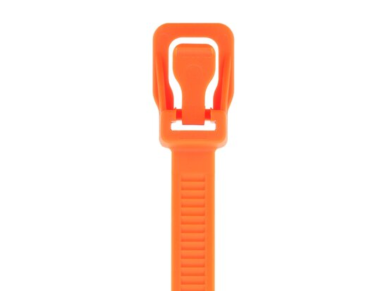 Picture of RETYZ ProTie 36 Inch Fluorescent Orange Releasable Tie - 10 Pack
