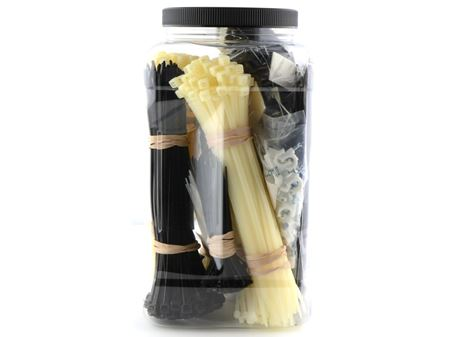 1070 piece cable tie kit