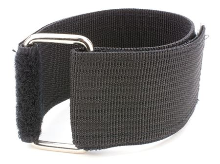 black 69 x 2 inch heavy duty cinch strap