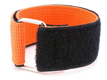 orange heavy duty 12 x 1.5 inch cinch strap