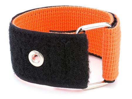 orange 36 x 1.5 inch heavy duty cinch strap with eyelet