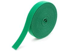 green continuous 1\2 inch hook and loop wrap