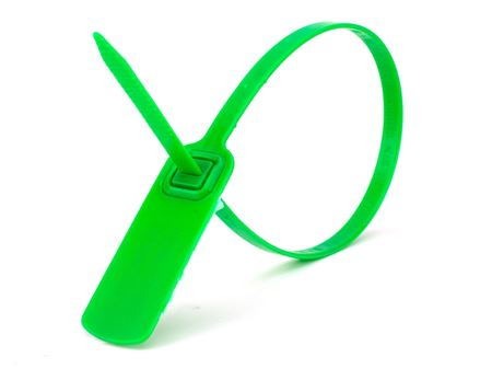 green 14 1\2 inch standard green pull tight plastic seal