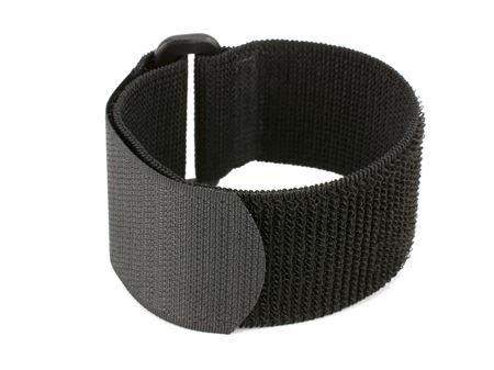 black 12 x 1.5 inch elastic cinch strap