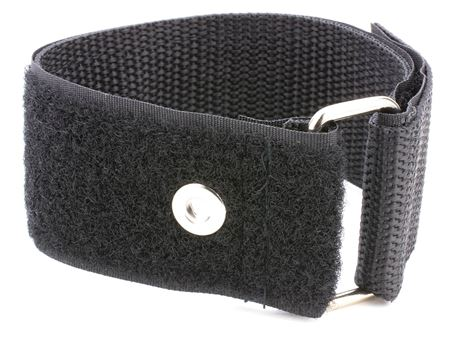 black 36 x 1.5 inch heavy duty cinch strap with eyelet
