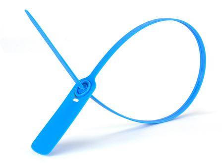 blue 19 inch standard pull tight plastic seal