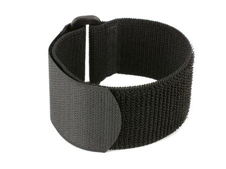 black 8 inch elastic cinch strap