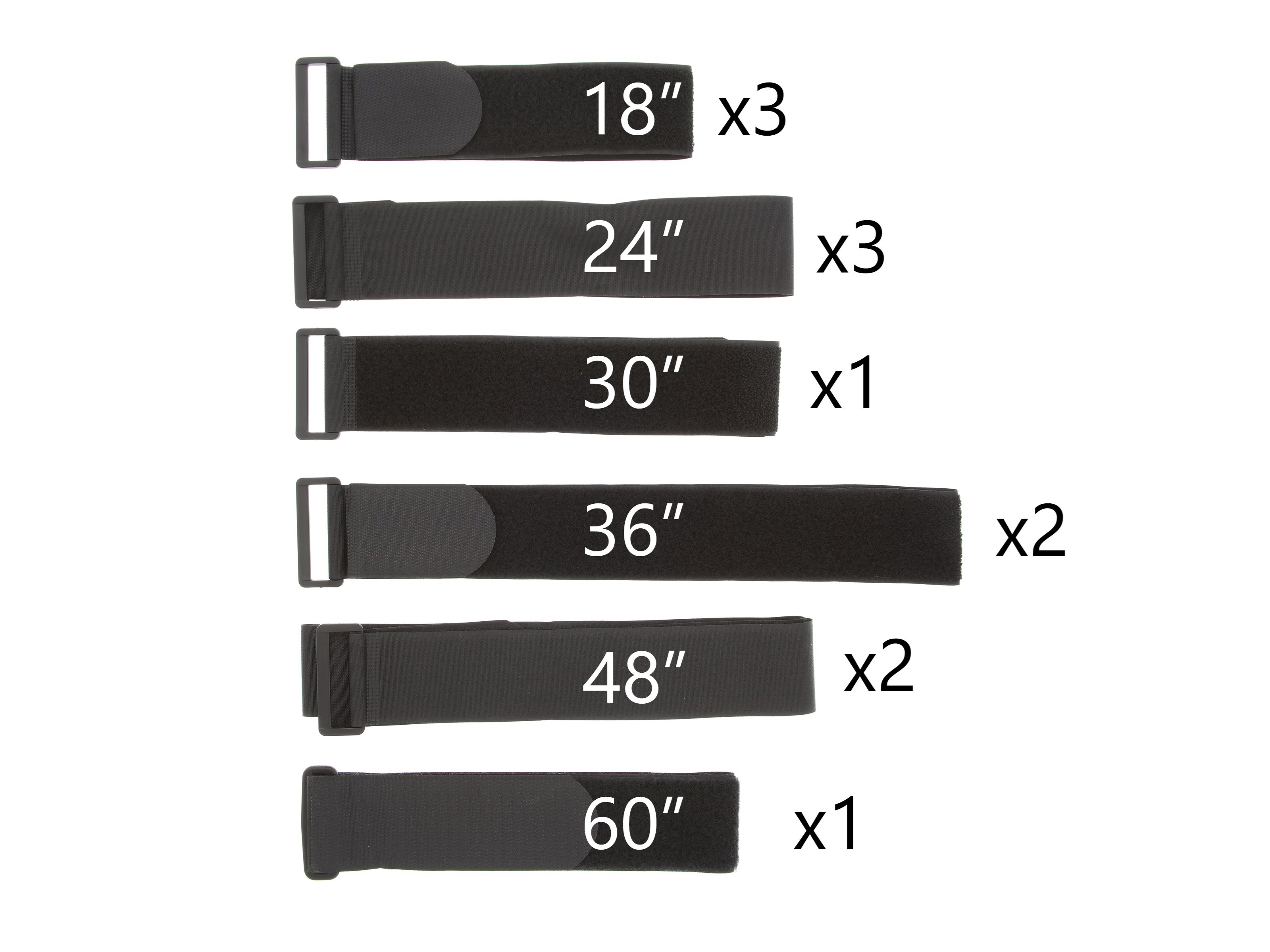 2d4d424a6d39 cinch strap variety pack, velcro cinch strap, hook and loop